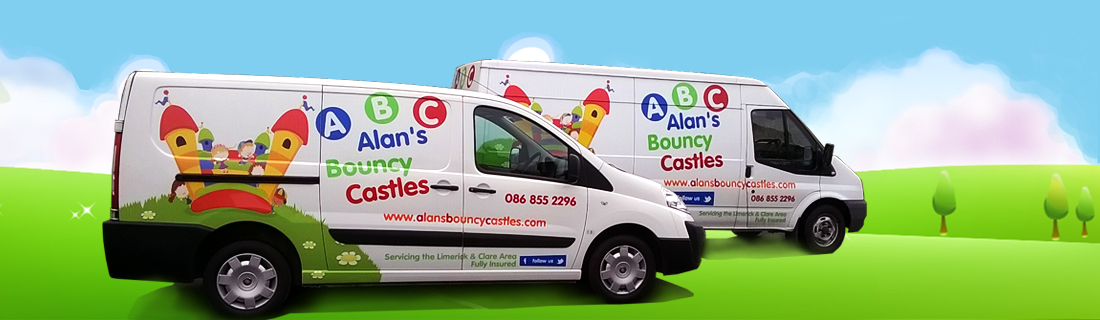 Alans Bouncy Castles Vans