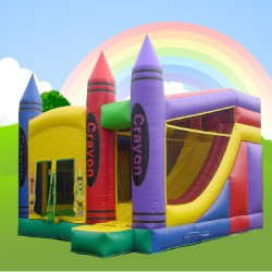 Crayola Bouncy Alans Bouncy Castles