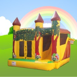 jungle combi alans bouncy castles