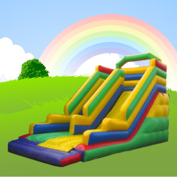 large slide alans bouncy castles