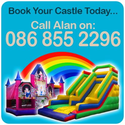 Click to call Alan's Bouncy Castles