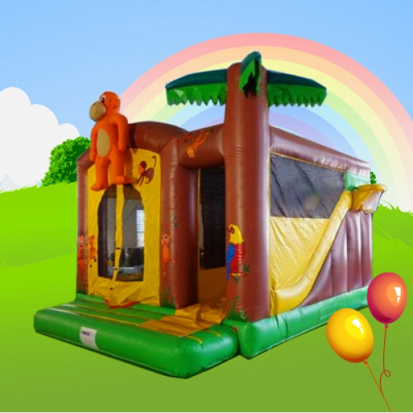 monkey combi alans bouncy castles