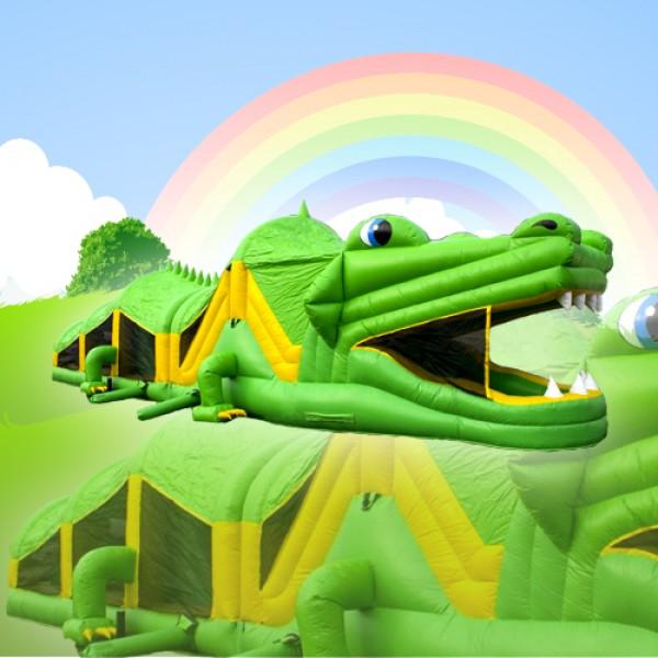 Crocodile Bouncy Castle Limerick and Clare