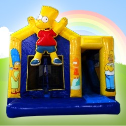 Simpsons bouncy castle limerick
